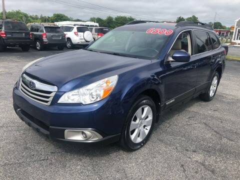 2010 Subaru Outback for sale at MBM Auto Sales and Service - MBM Auto Sales/Lot B in Hyannis MA