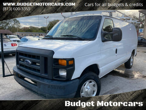2013 Ford E-Series Cargo for sale at Budget Motorcars in Tampa FL