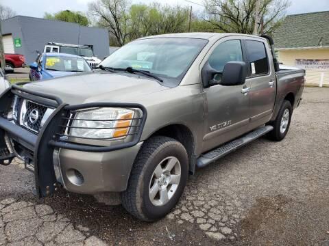 2007 Nissan Titan for sale at Shelton & Son Auto Sales L.L.C in Dover AR