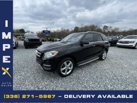 2017 Mercedes-Benz GLE for sale at Impex Auto Sales in Greensboro NC