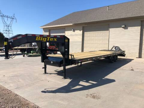 2021 Big Tex 16GN20+5 17,500 LB Rated #3755 for sale at Prairie Wind Trailers, LLC in Harrisburg SD