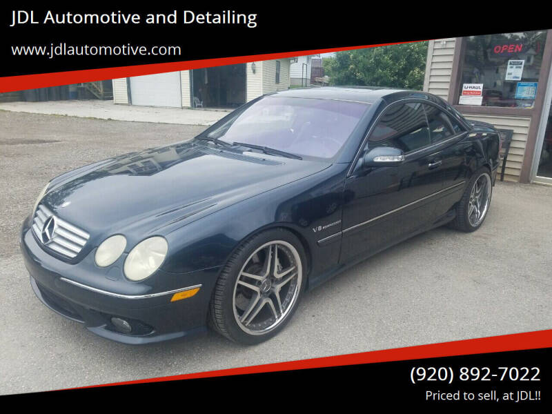 2003 Mercedes-Benz CL-Class for sale at JDL Automotive and Detailing in Plymouth WI