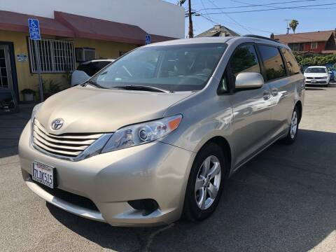 2015 Toyota Sienna for sale at Auto Ave in Los Angeles CA