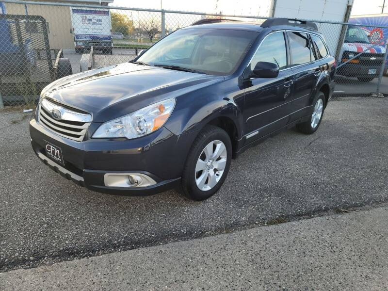 2012 Subaru Outback for sale at CFN Auto Sales in West Fargo ND