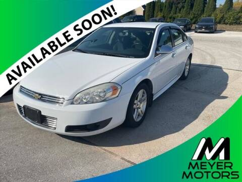 2011 Chevrolet Impala for sale at Meyer Motors in Plymouth WI