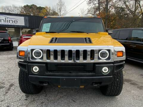 2005 HUMMER H2 SUT for sale at Car Online in Roswell GA