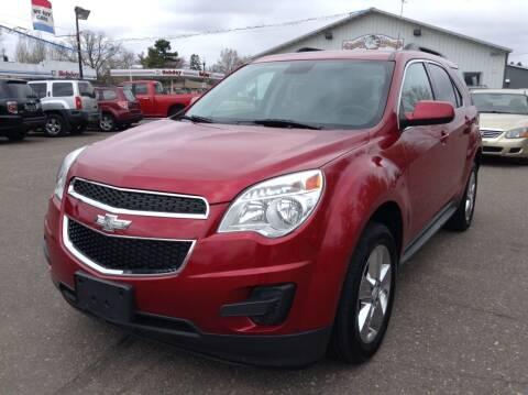 2013 Chevrolet Equinox for sale at Steves Auto Sales in Cambridge MN