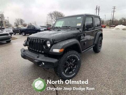 2021 Jeep Wrangler for sale at North Olmsted Chrysler Jeep Dodge Ram in North Olmsted OH