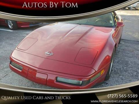 1991 Chevrolet Corvette for sale at Autos by Tom in Largo FL