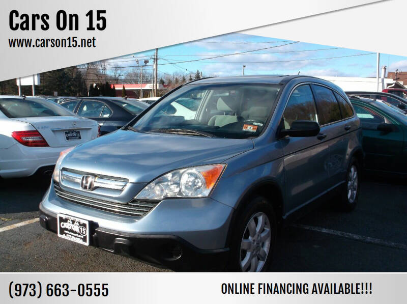 2007 Honda CR-V for sale at Cars On 15 in Lake Hopatcong NJ