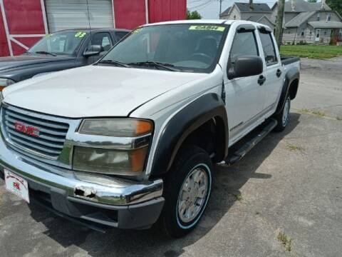 """2004 GMC Canyon for sale at MIDWESTERN AUTO SALES        """"The Used Car Center"""" in Middletown OH"""