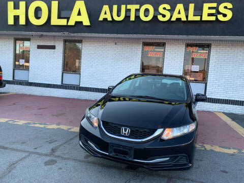 2015 Honda Civic for sale at HOLA AUTO SALES CHAMBLEE- BUY HERE PAY HERE - in Atlanta GA