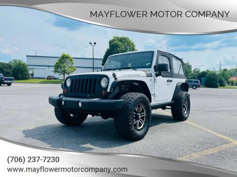 2011 Jeep Wrangler for sale at Mayflower Motor Company in Rome GA