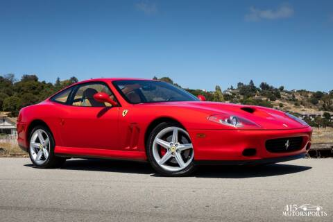 2002 Ferrari 575M for sale at 415 Motorsports in San Rafael CA