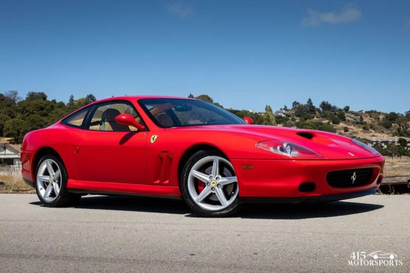 2002 Ferrari 575M for sale at 415 Motorsports in San Rafael CA