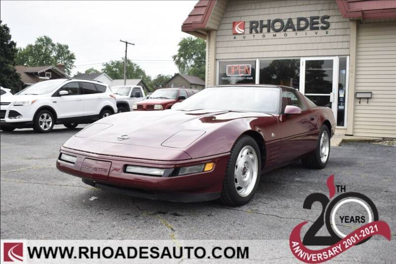 1993 Chevrolet Corvette for sale at Rhoades Automotive in Columbia City IN