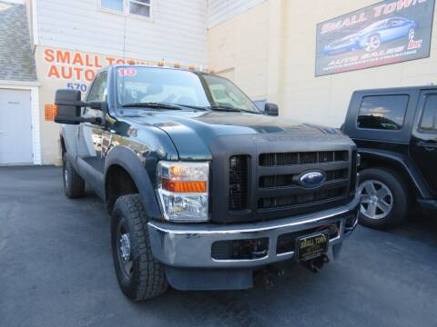 2010 Ford F-350 Super Duty for sale at Small Town Auto Sales in Hazleton PA