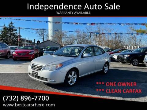2008 Hyundai Elantra for sale at Independence Auto Sale in Bordentown NJ