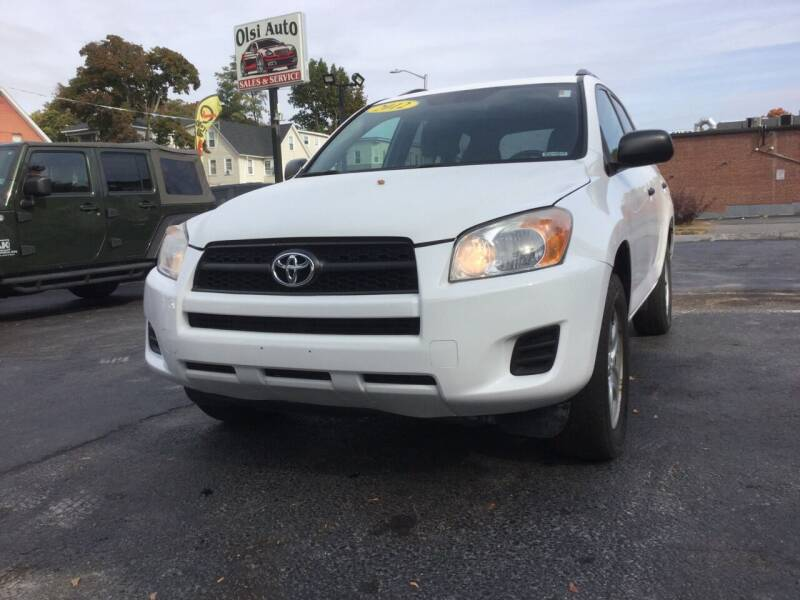 2012 Toyota RAV4 for sale at Olsi Auto Sales in Worcester MA