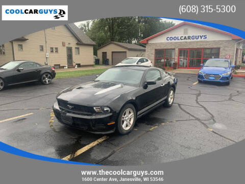 2012 Ford Mustang for sale at Cool Car Guys in Janesville WI