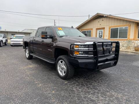 2016 Chevrolet Silverado 2500HD for sale at The Trading Post in San Marcos TX