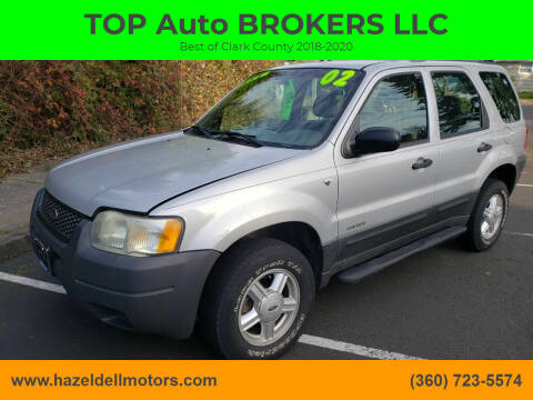 2002 Ford Escape for sale at TOP Auto BROKERS LLC in Vancouver WA