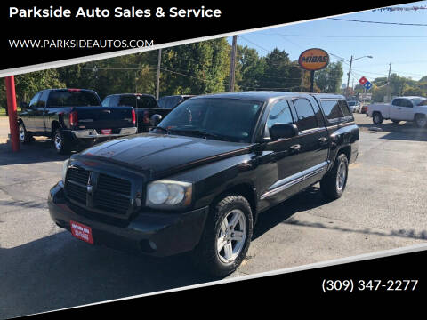 2007 Dodge Dakota for sale at Parkside Auto Sales & Service in Pekin IL