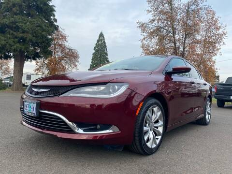 2015 Chrysler 200 for sale at Pacific Auto LLC in Woodburn OR