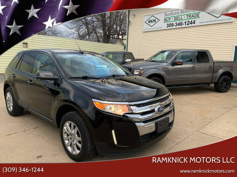 2013 Ford Edge for sale at RamKnick Motors LLC in Pekin IL