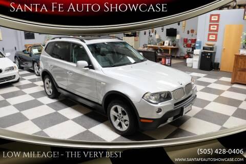 2007 BMW X3 for sale at Santa Fe Auto Showcase in Santa Fe NM