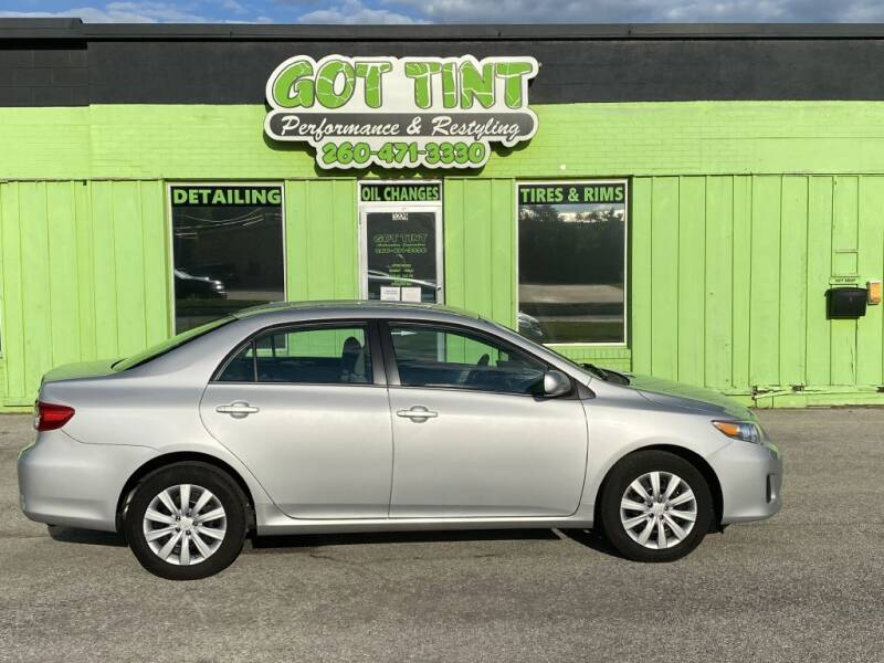 2013 Toyota Corolla for sale at GOT TINT AUTOMOTIVE SUPERSTORE in Fort Wayne IN
