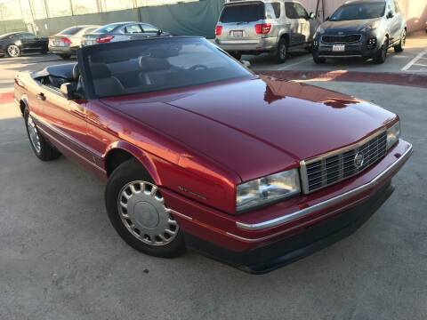 1993 Cadillac Allante for sale at SoCal Motors in Los Alamitos CA