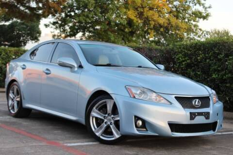 2011 Lexus IS 250 for sale at DFW Universal Auto in Dallas TX