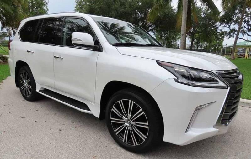 2018 Lexus LX 570 for sale at Progressive Motors in Pompano Beach FL