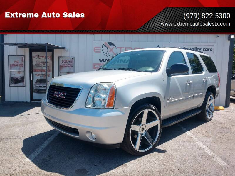 2013 GMC Yukon for sale at Extreme Auto Sales in Bryan TX