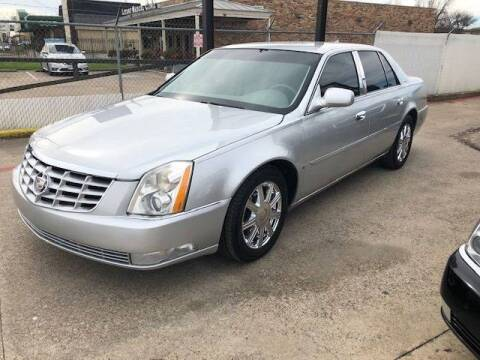 2009 Cadillac DTS for sale at East Dallas Automotive in Dallas TX