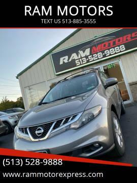 2011 Nissan Murano for sale at RAM MOTORS in Cincinnati OH
