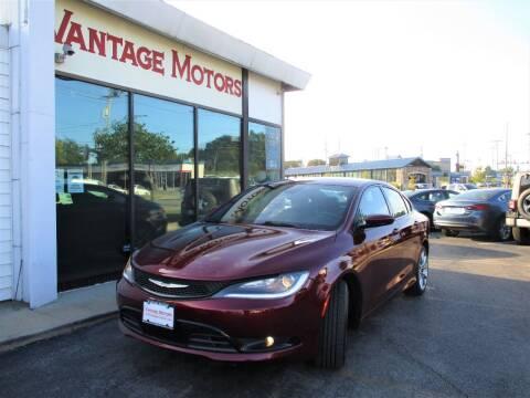 2015 Chrysler 200 for sale at Vantage Motors LLC in Raytown MO