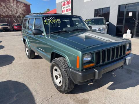 2000 Jeep Cherokee for sale at Legend Auto Sales in El Paso TX