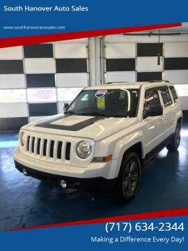 2016 Jeep Patriot for sale at South Hanover Auto Sales in Hanover PA