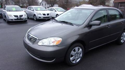 2007 Toyota Corolla for sale at Eagle's Wings Auto Sales in Hilton NY