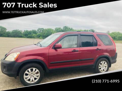 2006 Honda CR-V for sale at 707 Truck Sales in San Antonio TX