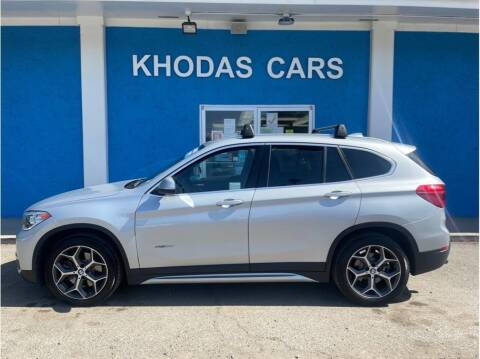 2018 BMW X1 for sale at Khodas Cars in Gilroy CA