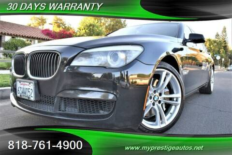 2012 BMW 7 Series for sale at Prestige Auto Sports Inc in North Hollywood CA