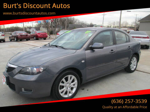 2007 Mazda MAZDA3 for sale at Burt's Discount Autos in Pacific MO