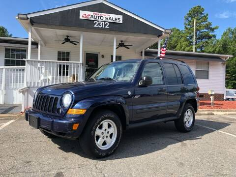 2007 Jeep Liberty for sale at CVC AUTO SALES in Durham NC