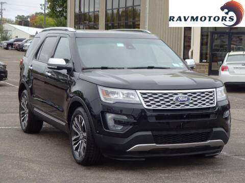 2017 Ford Explorer for sale at RAVMOTORS 2 in Crystal MN