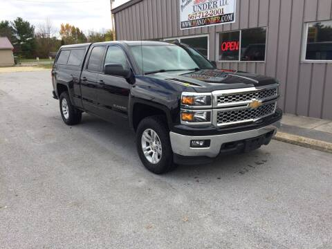 2015 Chevrolet Silverado 1500 for sale at KEITH JORDAN'S 10 & UNDER in Lima OH