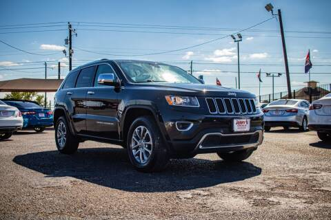 2016 Jeep Grand Cherokee for sale at Jerrys Auto Sales in San Benito TX