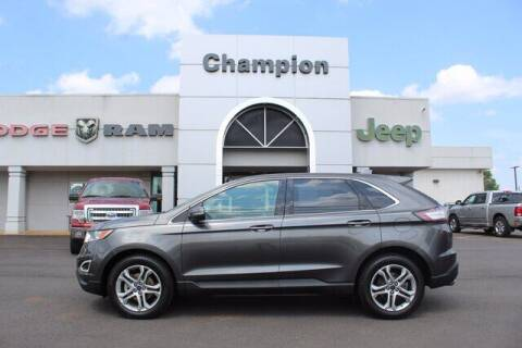 2015 Ford Edge for sale at Champion Chevrolet in Athens AL